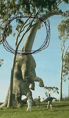 brachiosaure Jurassic Park 1/19  - Page 2 Arbre510