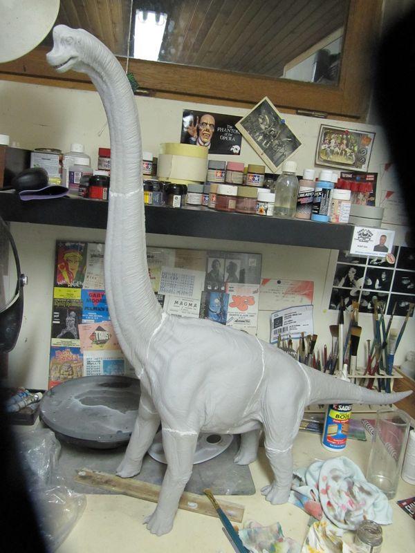brachiosaure Jurassic Park 1/19  Img_2315