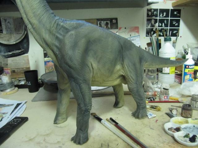 brachiosaure Jurassic Park 1/19  Img_2417