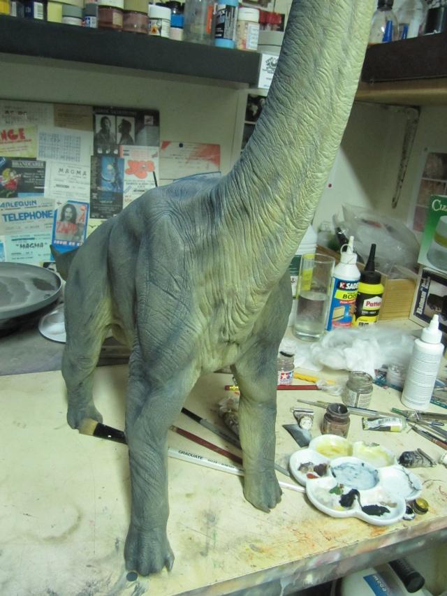 brachiosaure Jurassic Park 1/19  Img_2418