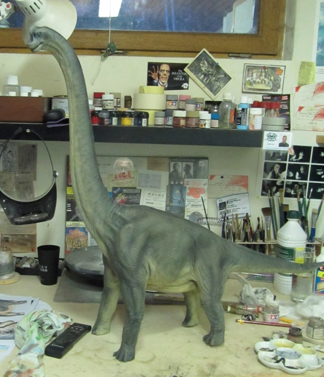 brachiosaure Jurassic Park 1/19  Img_2419