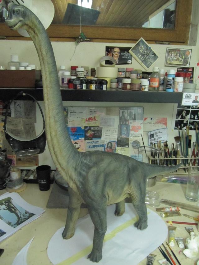 brachiosaure Jurassic Park 1/19  Img_2421