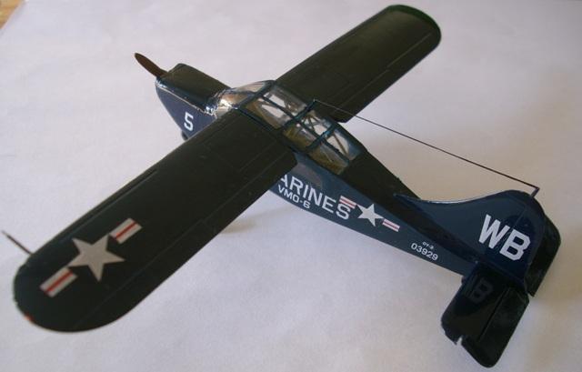 Stinson OY-2 sentinel Gauche11