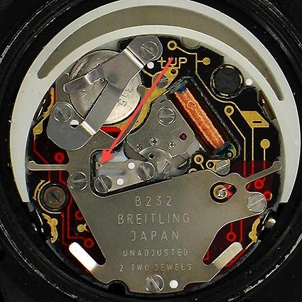 Breitling - Breitling B232 (Miyota Y652) : question concernant la tige... X010-c10