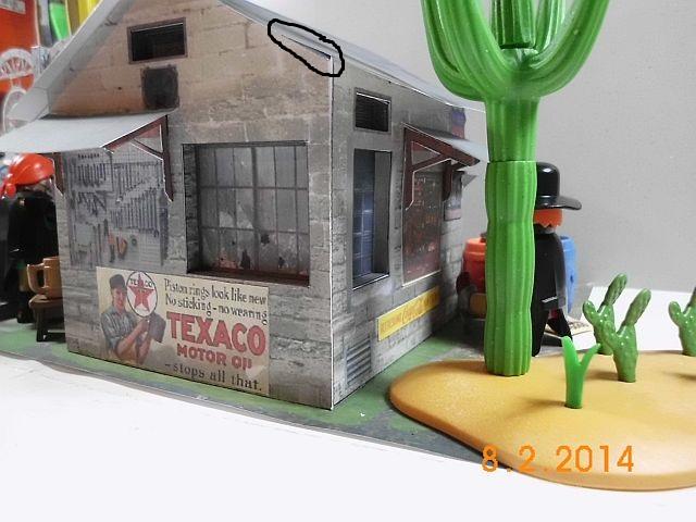 Papermau - Texaco Tankstelle - Galerie 341010