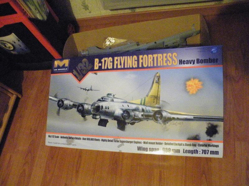 B-17 G HK Model 1/32 B-17_g14