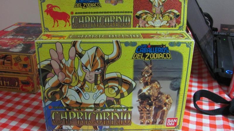Cavalieri dello zodiaco - Solo scatola capricorn Bandai Spain Scatol10