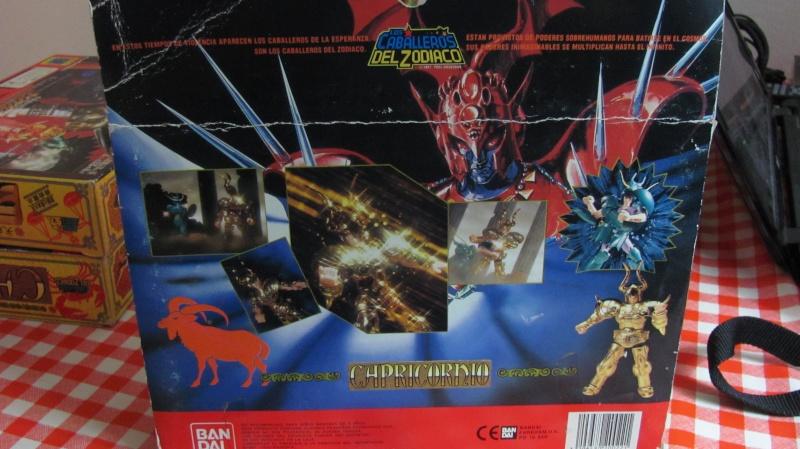 Cavalieri dello zodiaco - Solo scatola capricorn Bandai Spain Scatol11