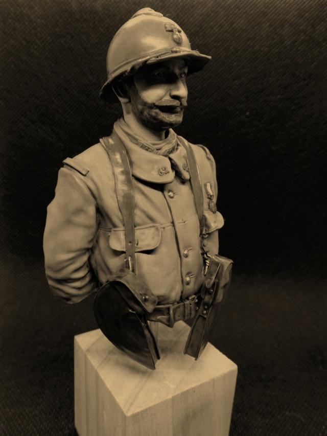Soldat Français 62ème régiment d'Infanterie 1916 Dscn4925