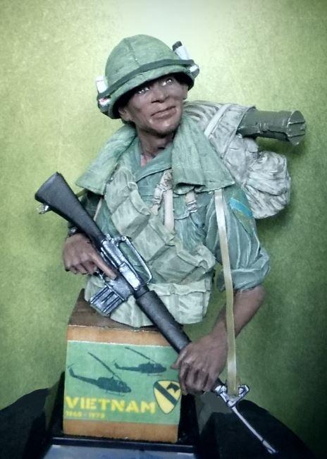 VIETNAM US Cavalry soldier Vietbu10