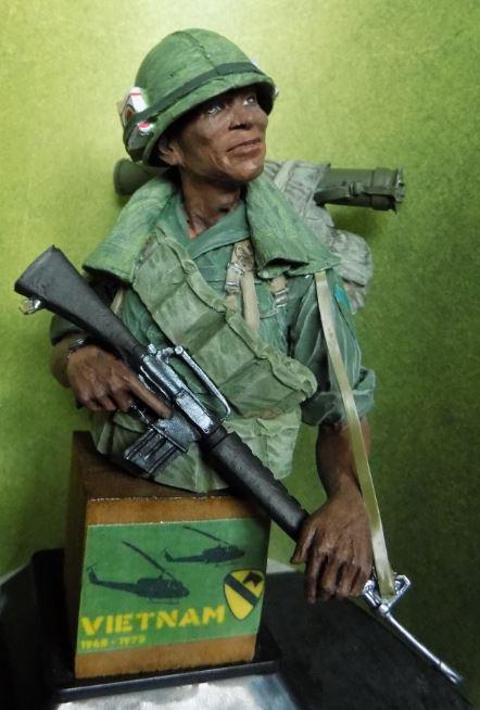 VIETNAM US Cavalry soldier Vietbu12