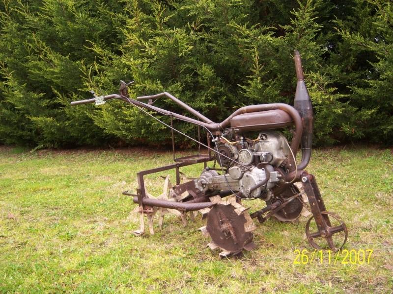 Mini-Tracteur à moteur de 2cv Motobe10