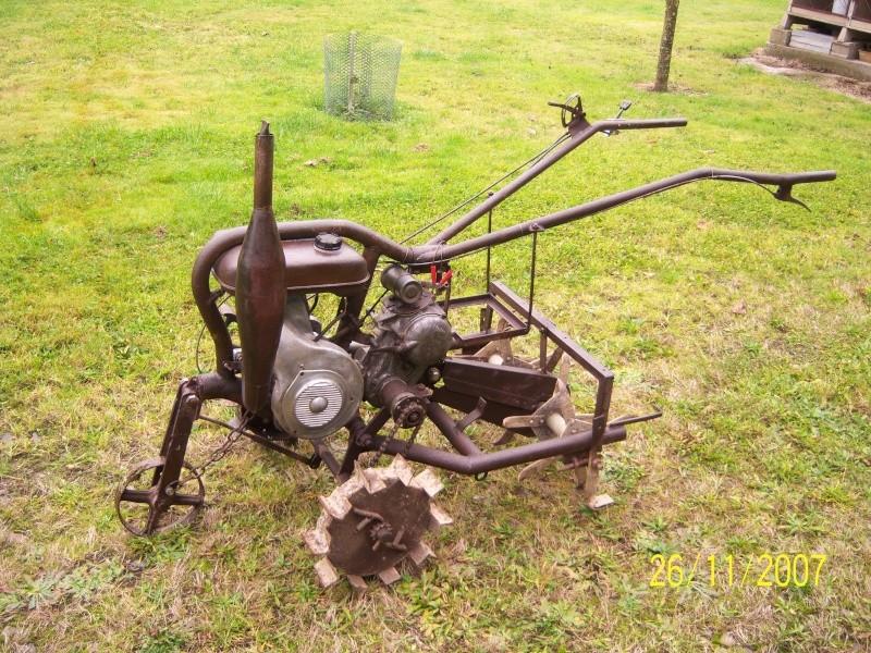 Mini-Tracteur à moteur de 2cv Motobe11