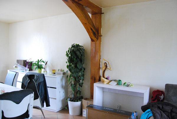 Déco salon ambiance nature avec tons vert/beige/blanc/marron 00110