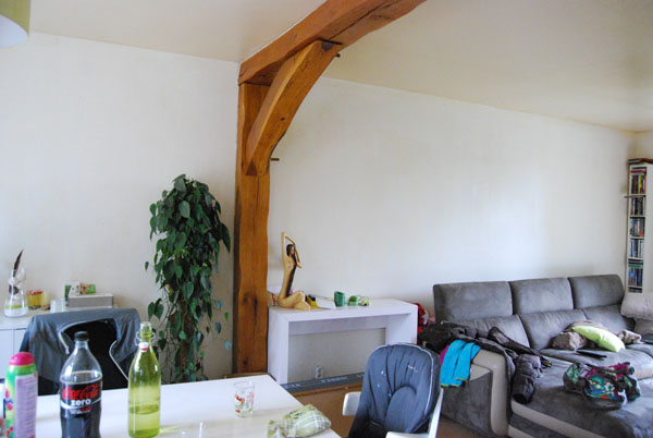 Déco salon ambiance nature avec tons vert/beige/blanc/marron 00210