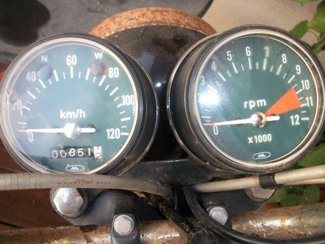 Honda 4-12 Belde CB125S 1976 100_1318