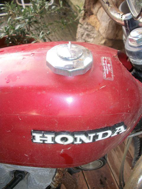 Honda 4-12 Belde CB125S 1976 100_1322