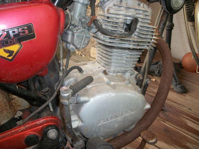 Honda 4-12 Belde CB125S 1976 100_1324