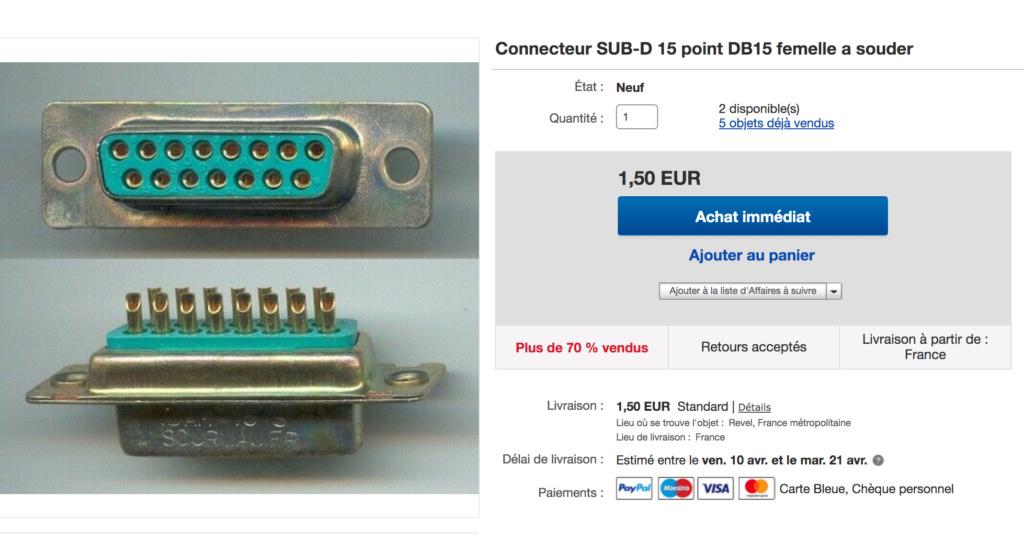 Bouton B HS / HELP BESOIN D UN TECHNICIEN CABLE DB15 SMALLCAB - Page 2 Captur26