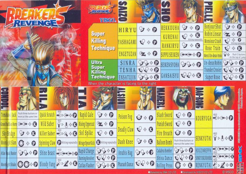 Centralisation des Moves Listes des Vs Fighting Neo Geo Move_s10