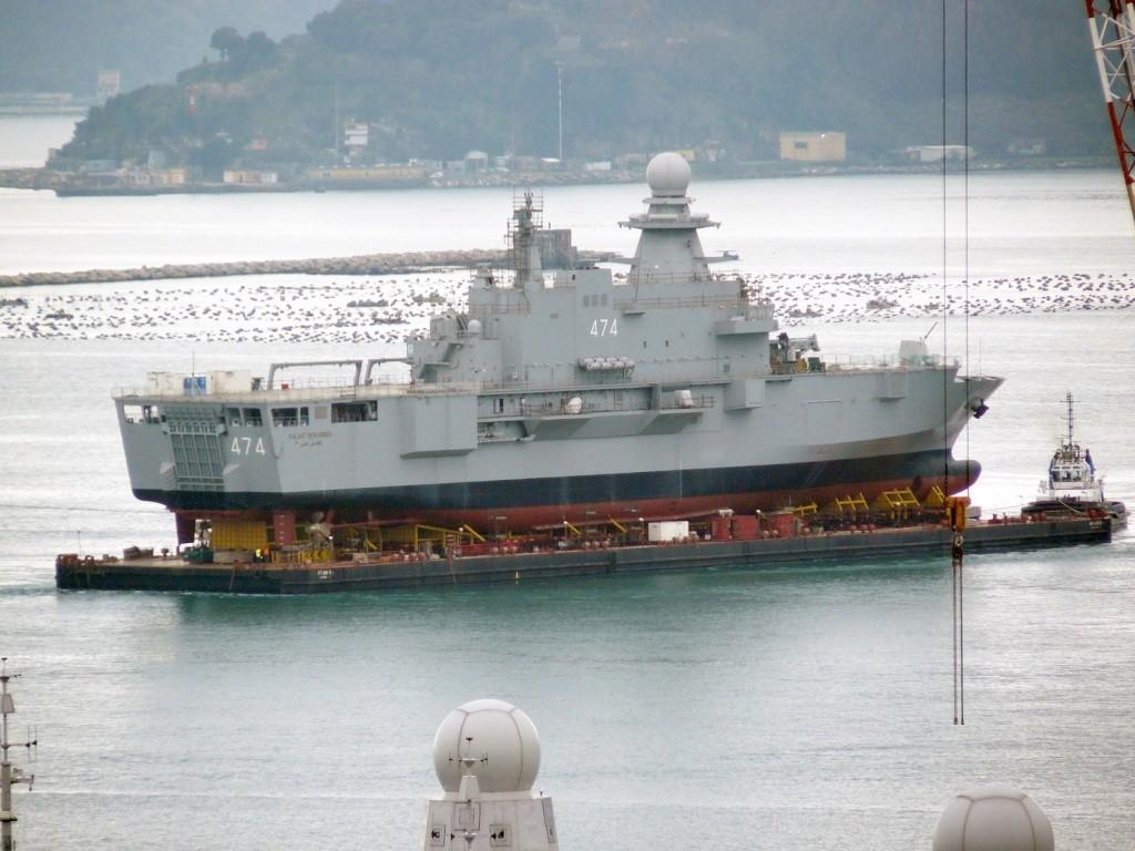 Algérie : nouveau navire de débarquement Algeri10