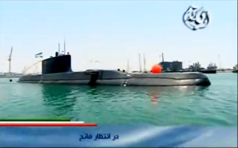 Sous-marin nain iranien Captur14