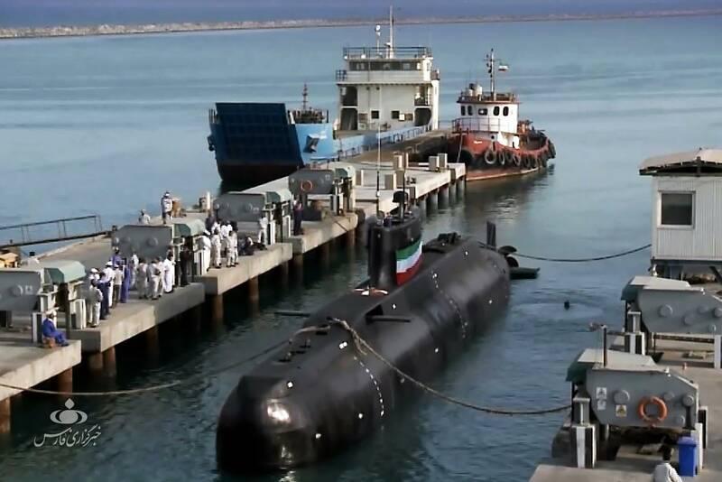 Sous-marin nain iranien K12nrz10