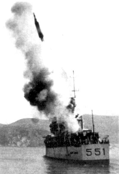 [Art.]ALFA : le missile balistique italien Lancio10