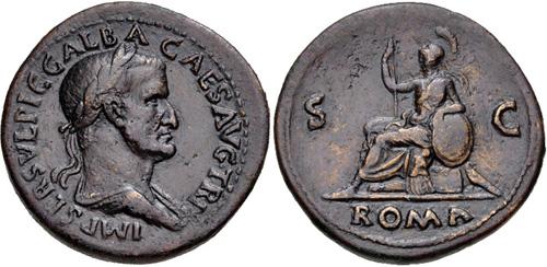 Sesterce de GALBA ROMA à préciser 29602510