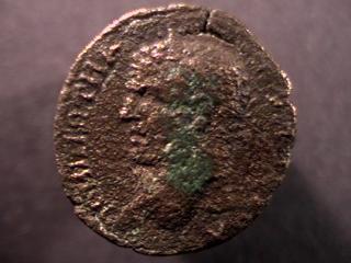 Caracalla et Julia Domna pour Hieropolis et potin alexandrin _hiero11