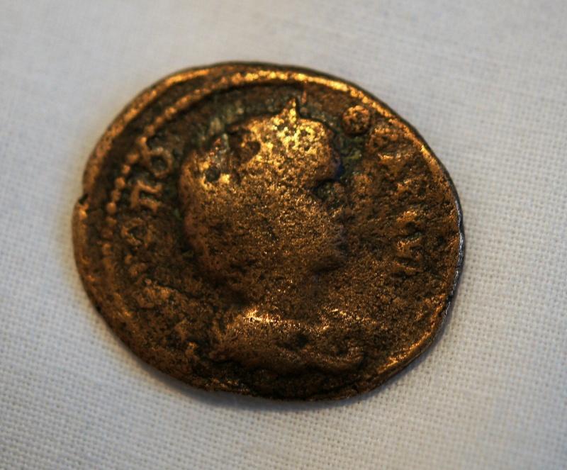 Caracalla et Julia Domna pour Hieropolis et potin alexandrin Dsc01310