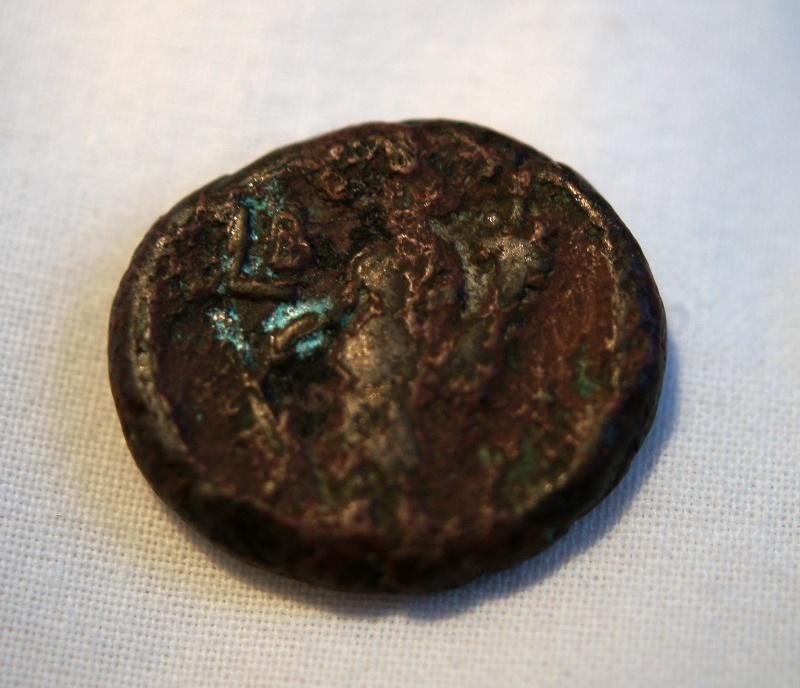 Caracalla et Julia Domna pour Hieropolis et potin alexandrin Dsc01312