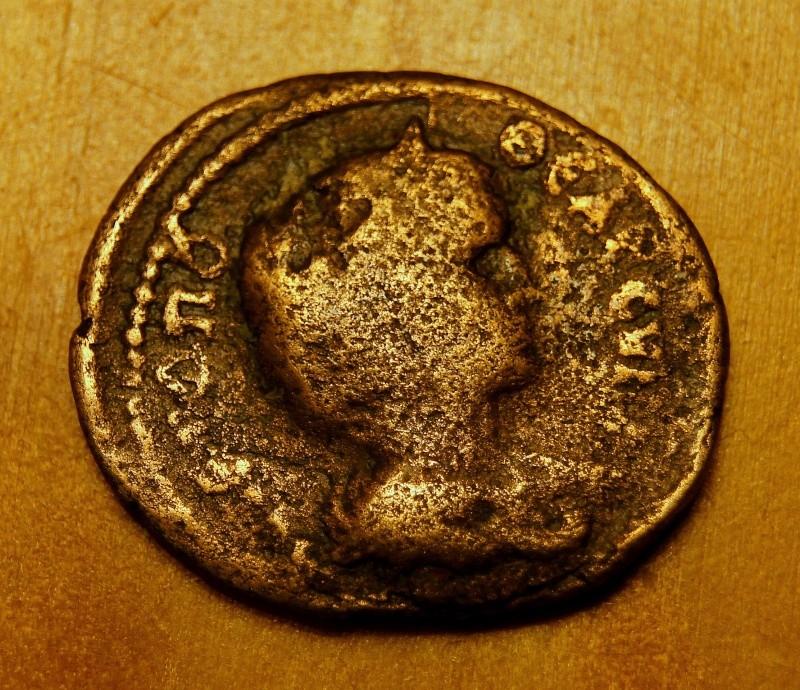 Caracalla et Julia Domna pour Hieropolis et potin alexandrin Dsc01315