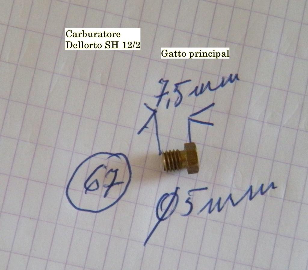 gicleurs Dellorto Gicleu15