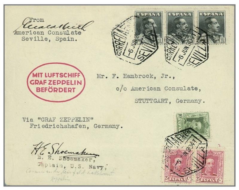 """Südamerikafahrt 1930 (Rundfahrt-) Post nach Friedrichshafen"""" - Seite 4 154_ra10"""