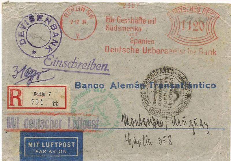 """Südamerikapost per Zeppelin"" 286_bb10"