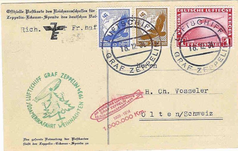 """Südamerikapost per Zeppelin"" 286_ca10"