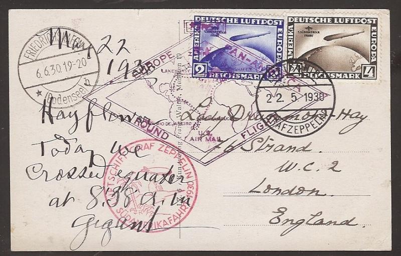 """Südamerikafahrt 1930 (Rundfahrt-) Post nach Friedrichshafen"""" - Seite 4 57_g_d10"""