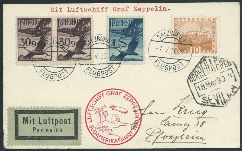 Liechtenstein - Zeppelin-Zuleitungspost - Seite 7 57_i_a10