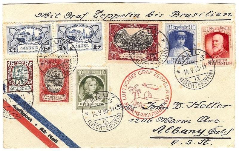 Südamerikafahrt 1930, Post nach (Salvador de) Bahia 57_l_l10