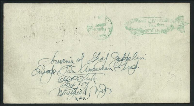 Südamerikafahrt 1930, Post nach (Salvador de) Bahia 59_a_r11