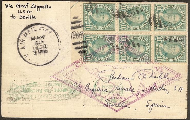 nach - Südamerikafahrt 1930, Post nach Sevilla - Seite 2 64_eii10