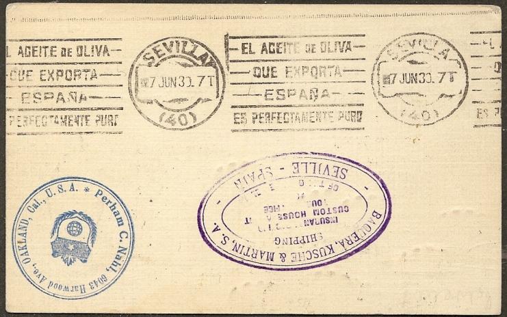 nach - Südamerikafahrt 1930, Post nach Sevilla - Seite 2 64_eii11