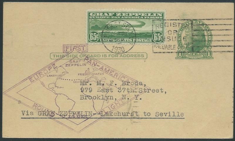 nach - Südamerikafahrt 1930, Post nach Sevilla - Seite 2 64_f_s10