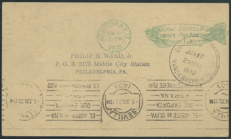 nach - Südamerikafahrt 1930, Post nach Sevilla - Seite 2 64_f_s11
