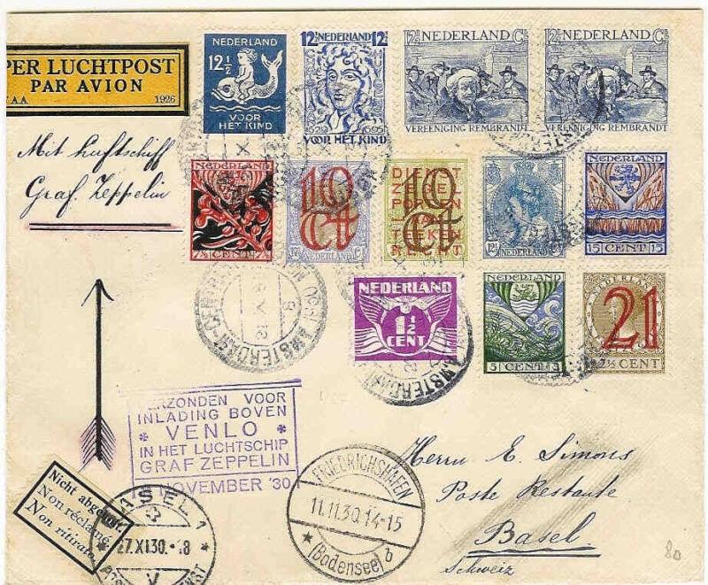 Alte Zeppelinpost gefunden, benötige Hilfe von Experten 99_a10