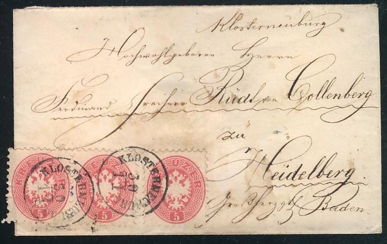 Die Freimarkenausgabe 1863/1864 Asterr12
