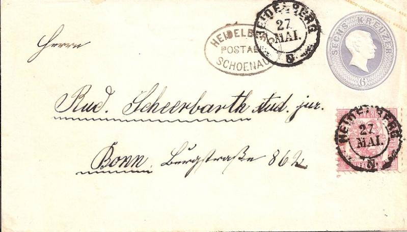 """""""Badische Briefumschläge"""" U1018_11"""