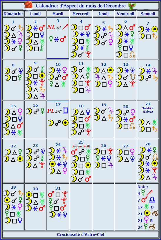 Calendrier Aspect Décembre Astro-10