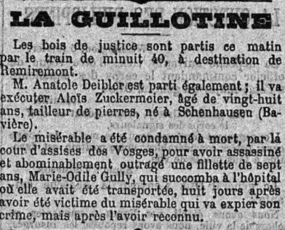 Aloïs Zückermeyer, l'odieux assassin de Marie-Odile Gully Petit_11